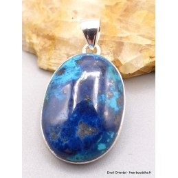 Pendentif oval Véritable Shattuckite Pendentifs pierres naturelles PU7.5