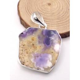 Pendentif en Opale violette de Morado Pendentifs pierres naturelles PU65.1