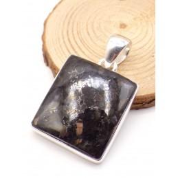 Pendentif en Nuumite naturelle carrée Pendentifs pierres naturelles PU75.1