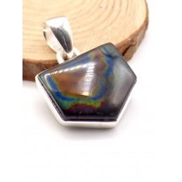 Pendentif Labradorite Spectrolite triangulaire Pendentifs pierres naturelles PU69.2