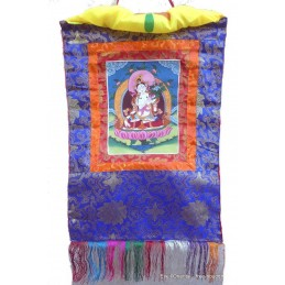 Tangka tibétain Tara Blanche tang tarab