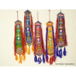Chopen sambhu bannière tibétaine porte-bonheur Bannières tibétaines CHOP1