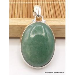 Pendentif Aventurine ovale détail bélière Pendentifs pierres naturelles TA29.4