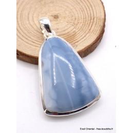 Pendentif Opale Owyhee forme trapèze Pendentifs pierres naturelles CZ7.5