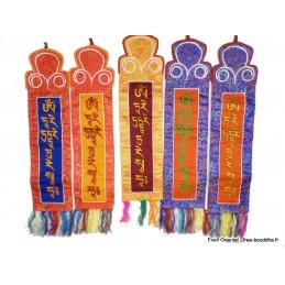 Tenture bouddhiste Mantra de Tara MANTA1