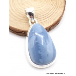 Pendentif Opale bleue Owyhee goutte Pendentifs pierres naturelles XV35.6