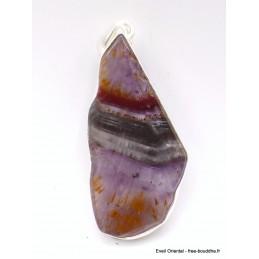 Grand pendentif en Cacochynite Super Seven Pendentifs pierres naturelles AW1.3