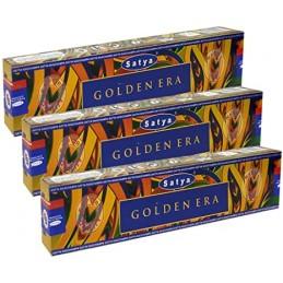 Encens indien Golden Era 15 gr Encens tibétains, accessoires ZD517
