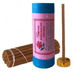 Encens tibétain Rose (Gulab) Encens tibétains, accessoires ENCROSE
