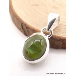 Petit Pendentif Tourmaline Verte Pendentifs pierres naturelles AW25