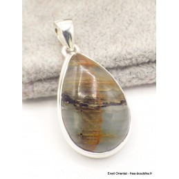 Pendentif Calcite Luminaire forme goutte Pendentifs pierres naturelles AW33