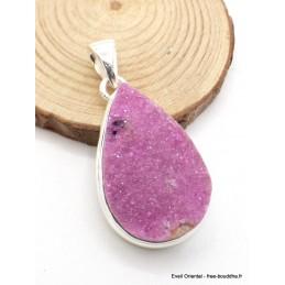 Pendentif Oxyde de Cobalt forme goutte Pendentifs pierres naturelles AW37.1