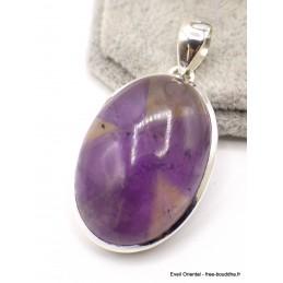 Gros Pendentif Amétrine naturelle ovale Pendentifs pierres naturelles AW45.2