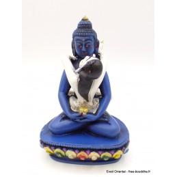 Statuette bouddhiste Shakti 13 cm résine peinte Objets rituels bouddhistes SHAKTI21