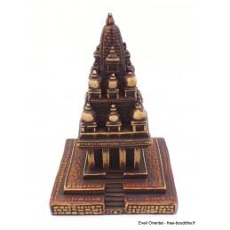 Statuette temple hindouiste Krishna 17 cm Stupas, temples tibétains KRIS1