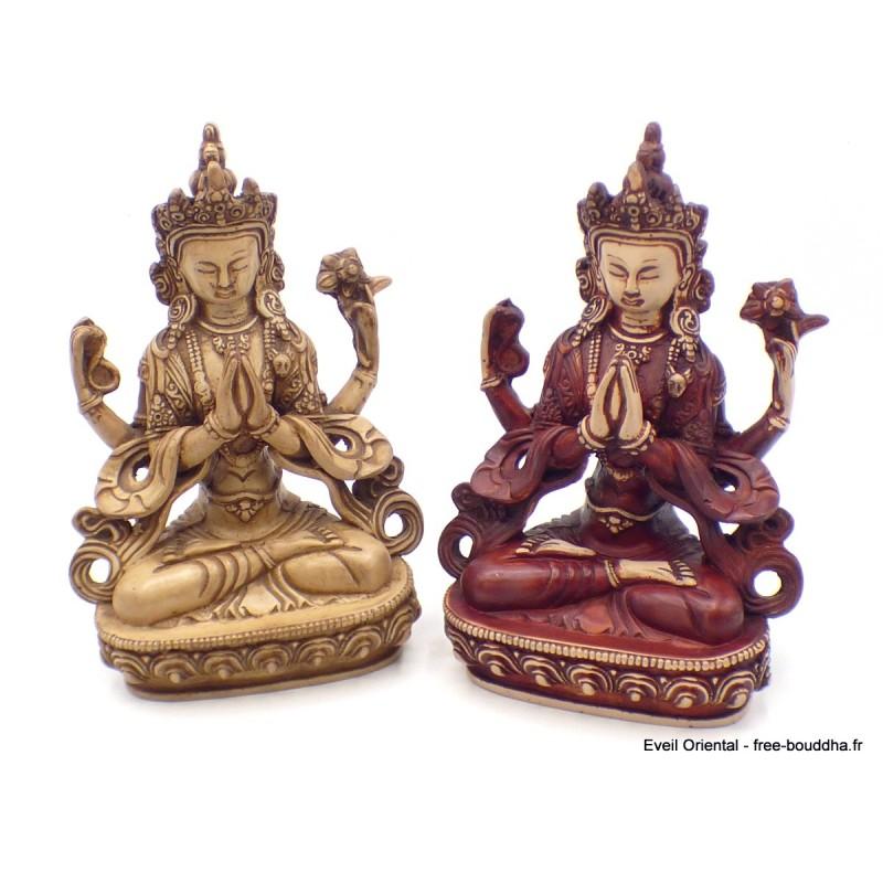Statuette bouddhiste Chenrezi 20 cm Statuettes Bouddhistes CHEN3