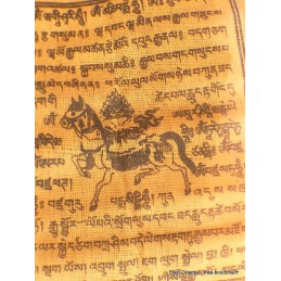 Drapeaux tibétains Lungta x 10 Drapeaux tibétains PEA3