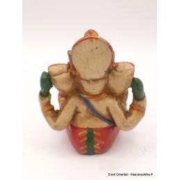 Petite statuette Ganesh peinte à la main Objets Ganesh GAN5