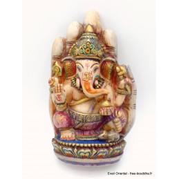 Statuette Ganesh sur main 16 cm Statuettes Bouddhistes GAN6