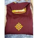 Sac moine tibétain ROUE DU DHARMA sac moine