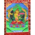 Tangka peinture tibétaine Manjushri tangka Manjushri