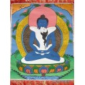 Tangka tibétain Samandrabhadra SHAKTI1