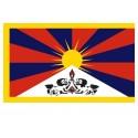 Drapeau tibétain 36 X 23 CM DT26