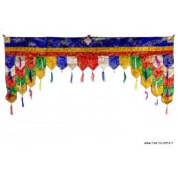 Dessus de porte motif bouddhiste PAN3