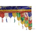 Décoration de porte tibétaine