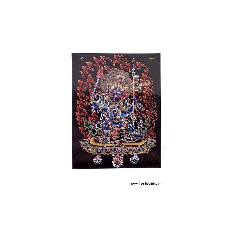 Carte postale bouddhiste MAHAKALA CPB24