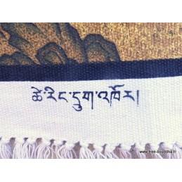 TENTURE bouddhiste LAMA GOUROU TENLG