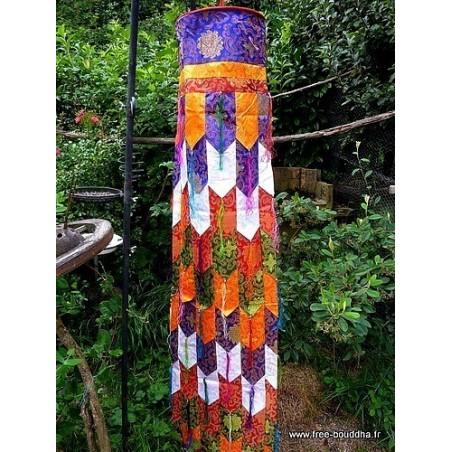Chukhor bannière Gyaltsen bouddhiste 190 cm