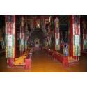 Bannière Kaden bouddhiste 190 cm CHO5