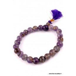 Bracelet en pierres AMETHYSTES AGA12