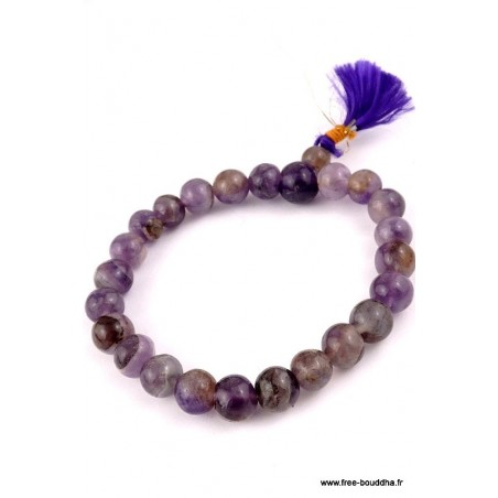 Bracelet en pierres AMETHYSTES