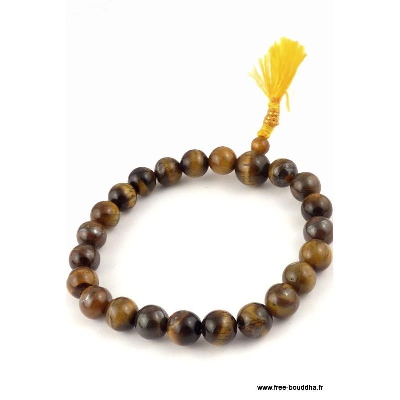Bracelet en pierres OEIL DE TIGRE AGA13