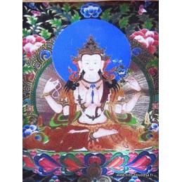 Pendentif TANGKA gao CHENREZI Bijoux tibetains bouddhistes  PENDTH1