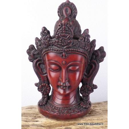Statuette en résine divinité TARA VERTE