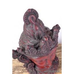 Statuette en résine divinité Tara Verte ref STV