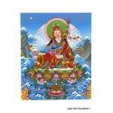 Carte postale bouddhiste GURU RINPOCHE CPB23