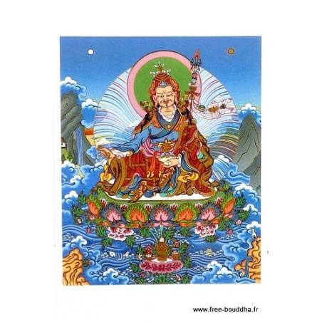 Carte postale bouddhiste GURU RINPOCHE