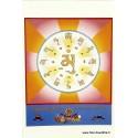 Carte postale bouddhiste MANTRA DU BOUDDHA CPB12