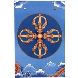 Carte postale bouddhiste DORJE