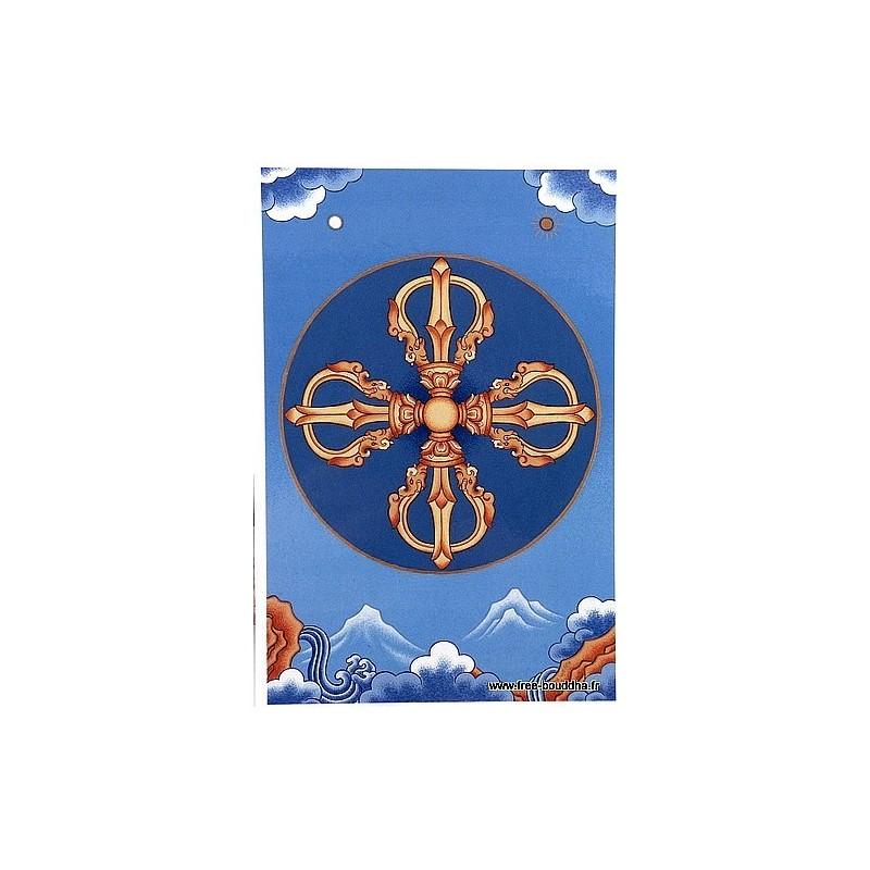 Carte postale bouddhiste DORJE CPB1