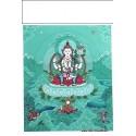 Carte postale bouddhiste CHENREZI CPB2
