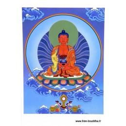 Carte postale bouddhiste AMITABHA
