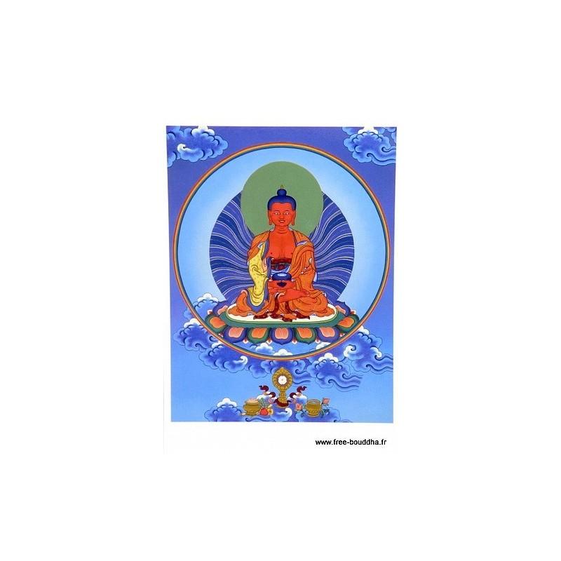 Carte postale bouddhiste AMITABHA CPB8