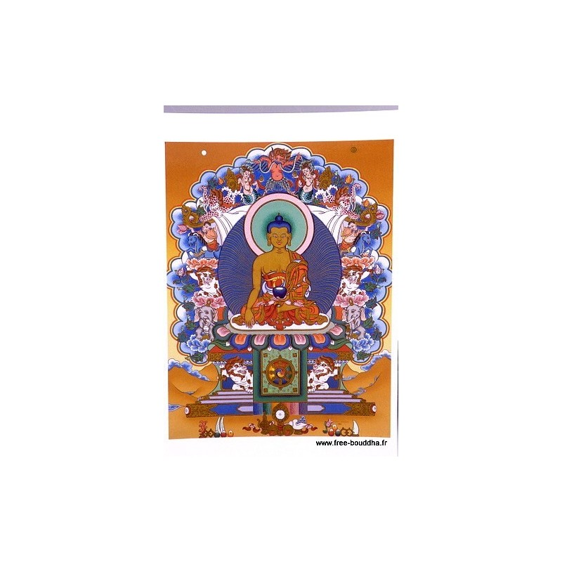 Carte postale bouddhiste SAKYAMOUNI CPB9