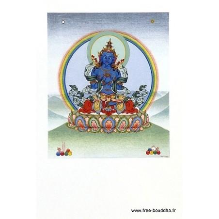 Carte postale bouddhiste VAJRADHARA