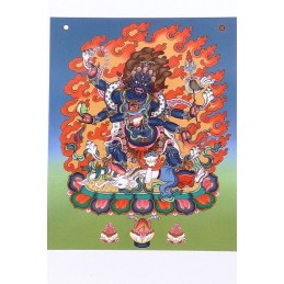 Carte postale bouddhiste MAHAKALA